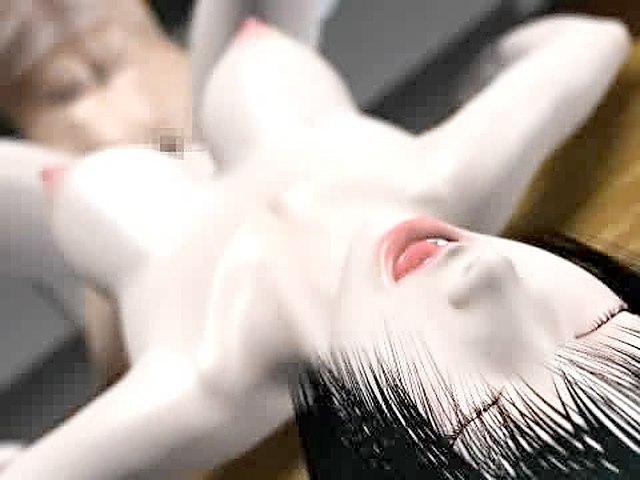 Adult 3d video with asian school girl.