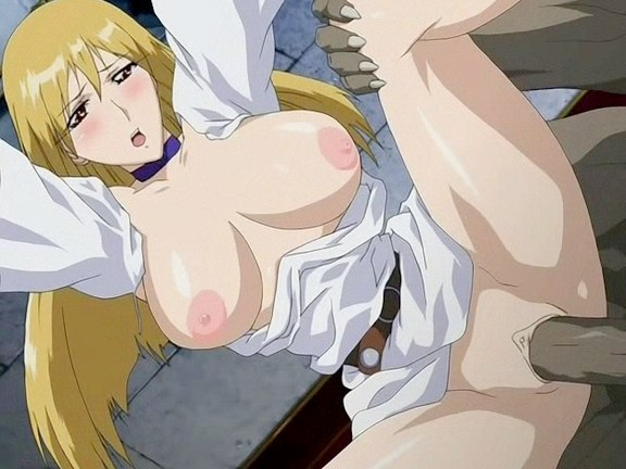 Girl's first experience with monster. hentai galleries