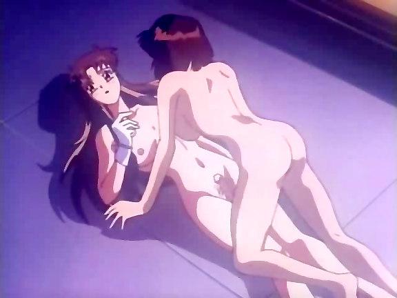 free lesbian anime pic