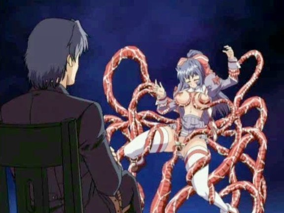 Lovely violin player tentacle pounded. Beautiful violin player squeals while tentacles pound her pretty lovely holes