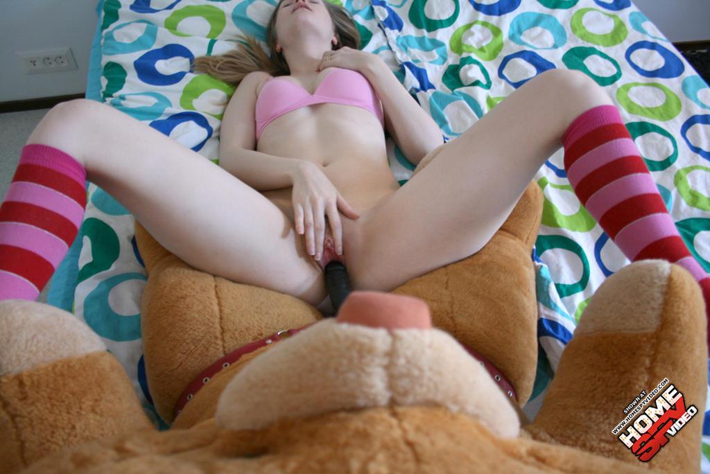 Секс с плюшевым мишкой фото